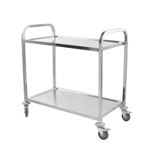 iMettos Service Trolley 2 Tier With Square Tube - 301001